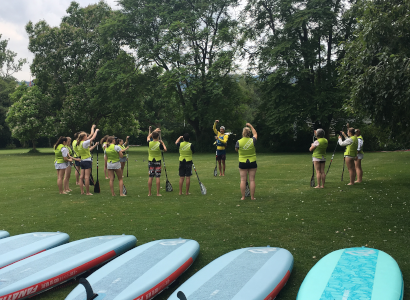 Firmenevent Stand Up Paddle Am Zürichsee