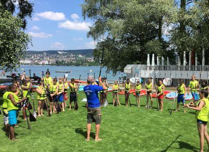 Stand Up Paddle Kinderkurse In Zürich