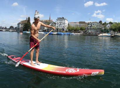 Stand Up Paddle Shape Training With Our Athletes Team