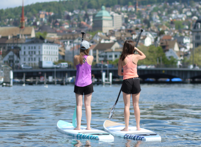 Stand Up Paddle City Tour In The Heard Of Zürich